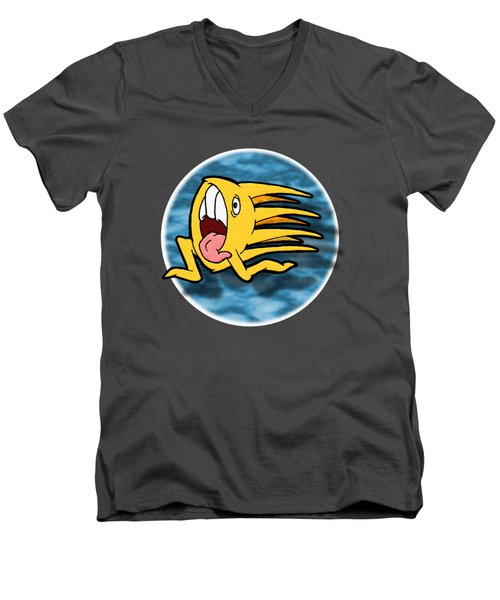 Another One Of Those Days Men's V-Neck T-Shirt