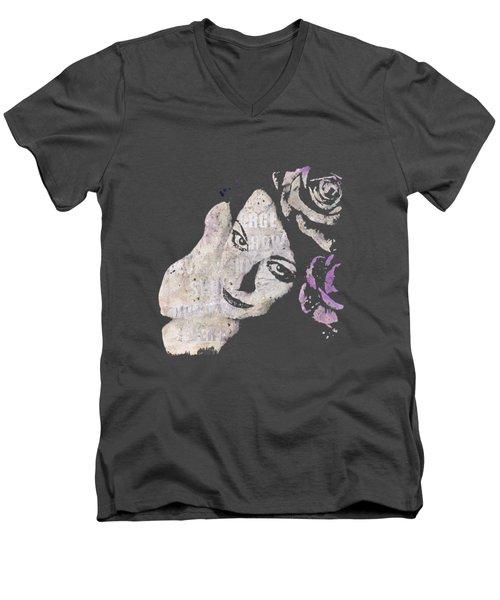 Sick On Sunday - Violet Men's V-Neck T-Shirt