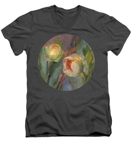 Evening Bloom Men's V-Neck T-Shirt