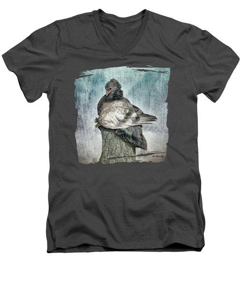 Maragold Men's V-Neck T-Shirt by Shari Nees
