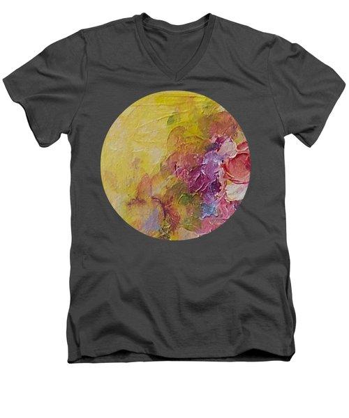 Floral Still Life Men's V-Neck T-Shirt