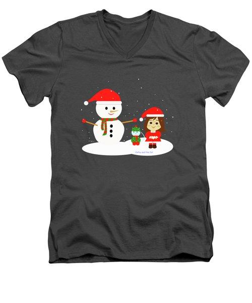Christmas #5 Men's V-Neck T-Shirt
