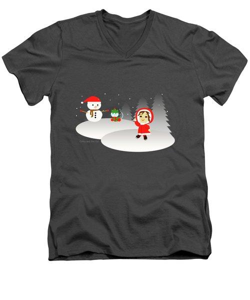 Christmas #6 Men's V-Neck T-Shirt