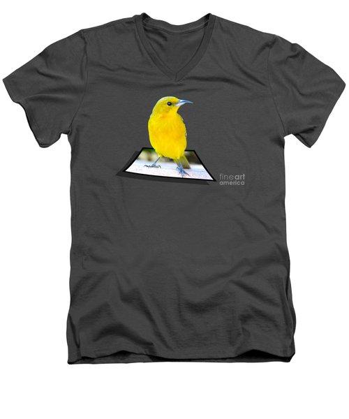 Two Worlds Men's V-Neck T-Shirt