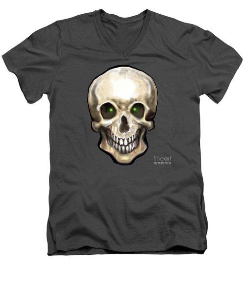 Skull Men's V-Neck T-Shirt