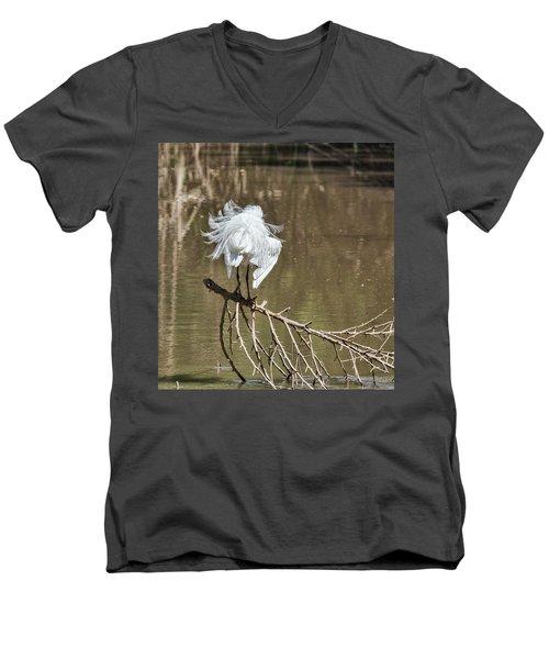 Fluff Time Men's V-Neck T-Shirt