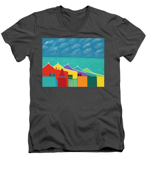 Aruba Fantasy  Men's V-Neck T-Shirt