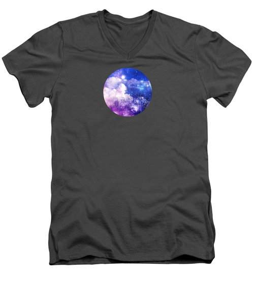 As It Is In Heaven Mandala Men's V-Neck T-Shirt