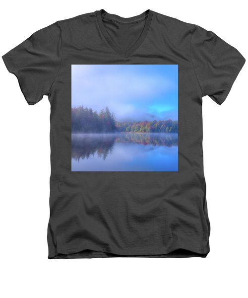 As The Fog Lifts Men's V-Neck T-Shirt