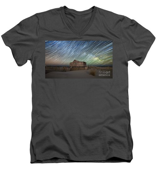 As The Stars Passed By  Men's V-Neck T-Shirt