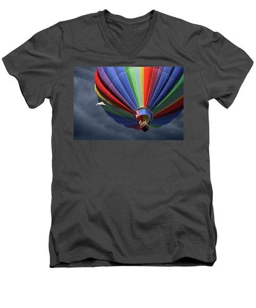 Ascending To The Storm Men's V-Neck T-Shirt