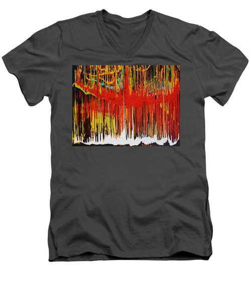 Ascension Men's V-Neck T-Shirt by Ralph White