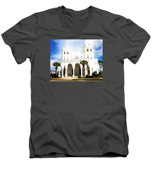 Ascension Sunday Men's V-Neck T-Shirt