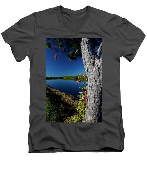 Ashley Reservoir Men's V-Neck T-Shirt