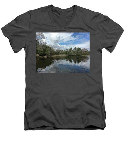 Ashley River Men's V-Neck T-Shirt