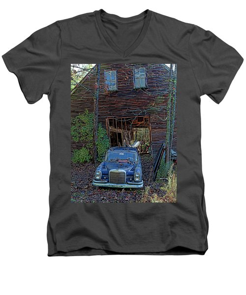 Asleep At The Wheel Men's V-Neck T-Shirt