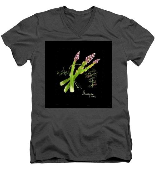 Asparagas  Men's V-Neck T-Shirt