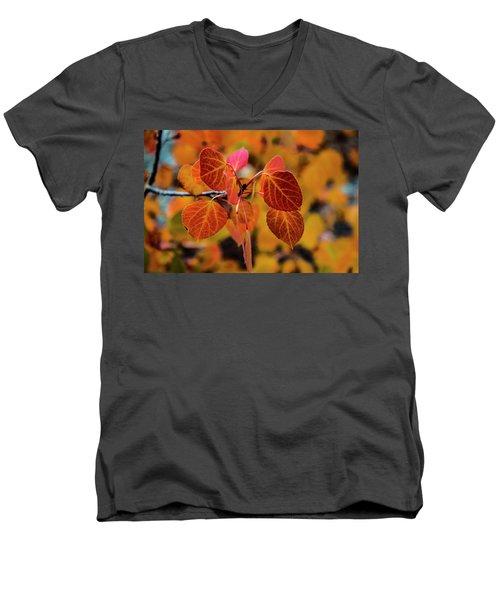 Aspen Aflame Men's V-Neck T-Shirt