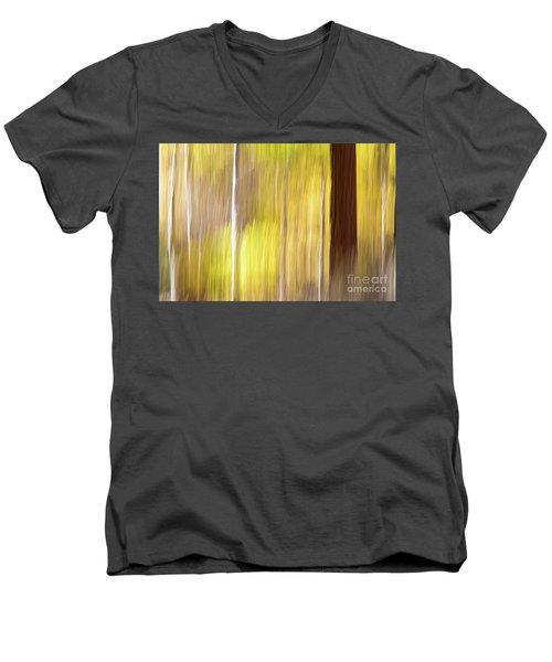 Aspen Blur #1 Men's V-Neck T-Shirt