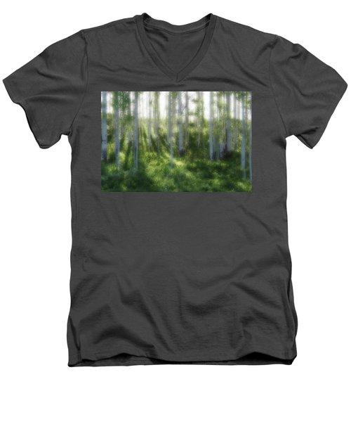 Aspen Morning 2 Men's V-Neck T-Shirt