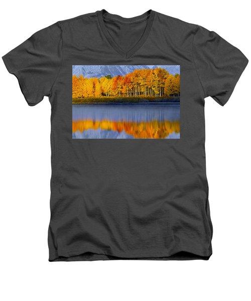 Aspen Reflection Men's V-Neck T-Shirt