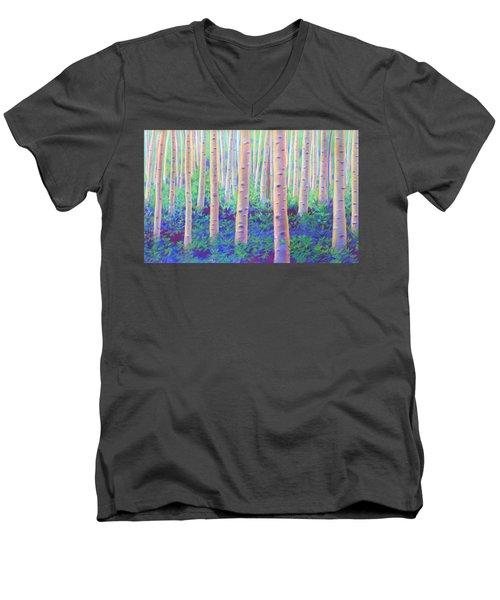 Aspens In Aspen Men's V-Neck T-Shirt