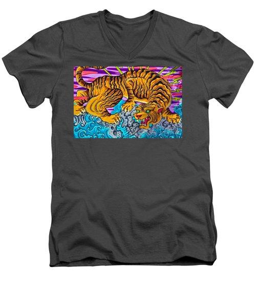 Asphalt Jungle Men's V-Neck T-Shirt