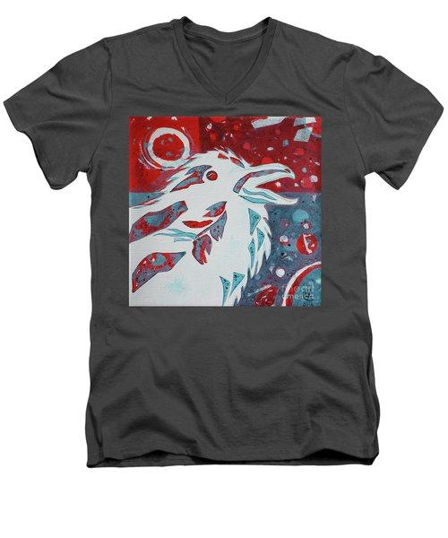 Assertion Men's V-Neck T-Shirt