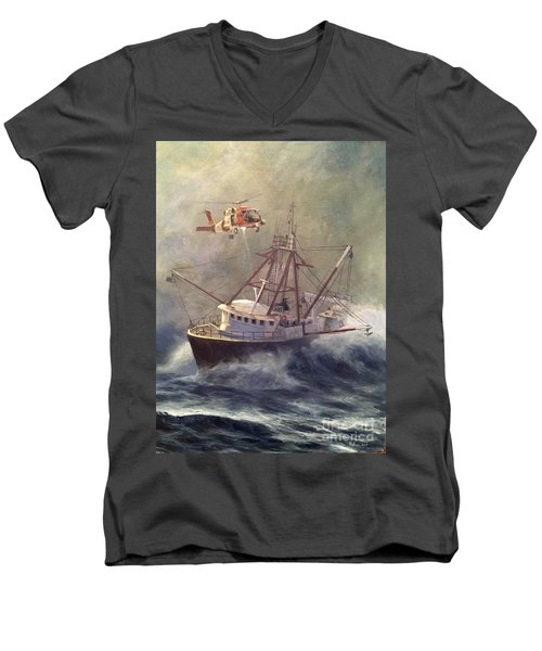Assessment Men's V-Neck T-Shirt