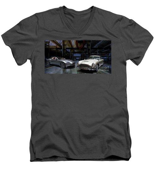 Aston Martin Db5 Db11 Men's V-Neck T-Shirt