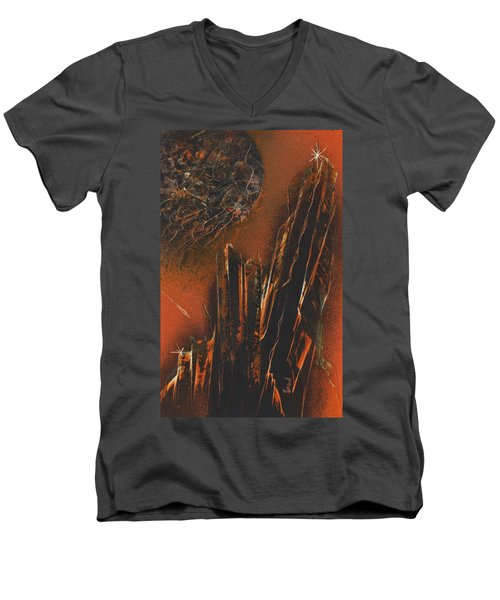 Astral Colonnades Men's V-Neck T-Shirt