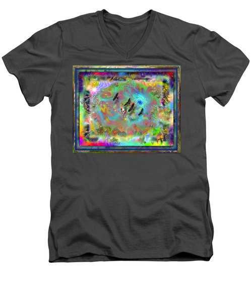 Astral Vision Men's V-Neck T-Shirt