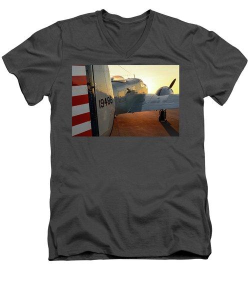 At-11 Sunrise Men's V-Neck T-Shirt
