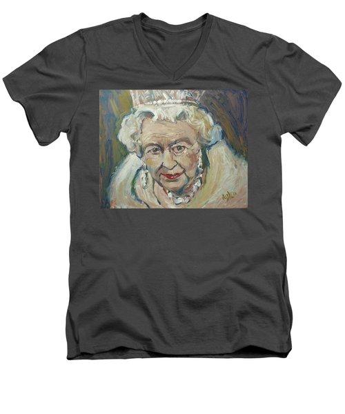 At Age Still Reigning Men's V-Neck T-Shirt