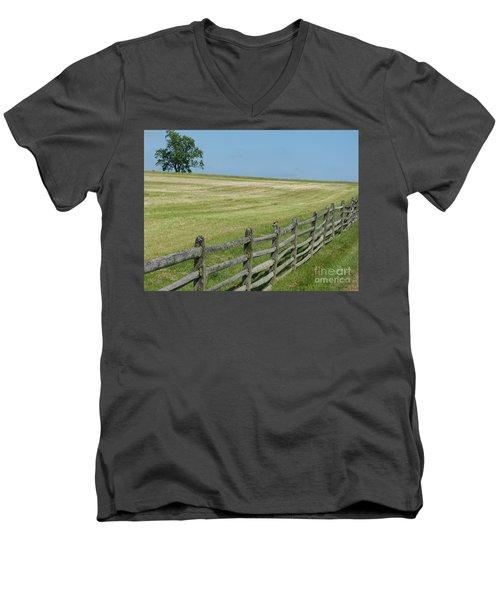 At Gettysburg Men's V-Neck T-Shirt