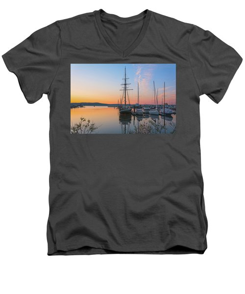 At Rest At Dawn Men's V-Neck T-Shirt