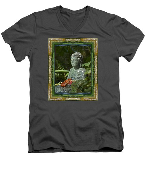 At Rest Men's V-Neck T-Shirt by Bell And Todd