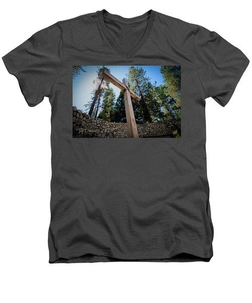 At The Cross Men's V-Neck T-Shirt