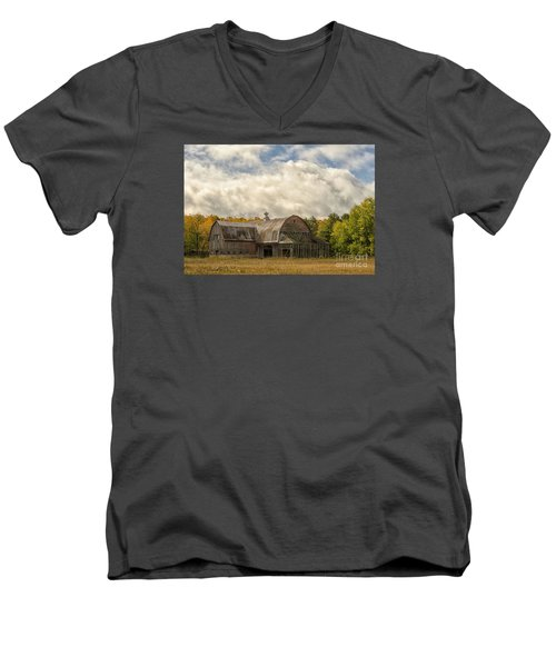 At The Edge Of The Medow Men's V-Neck T-Shirt by JRP Photography