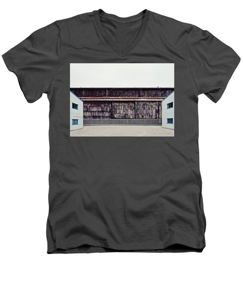 At The Edge Of Town Men's V-Neck T-Shirt