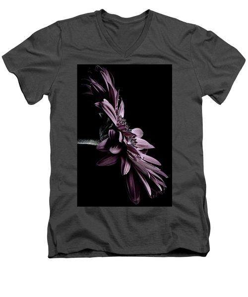 At The Moonlight Men's V-Neck T-Shirt by Edgar Laureano