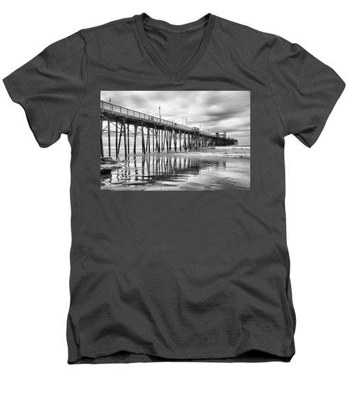 At The Pier Men's V-Neck T-Shirt