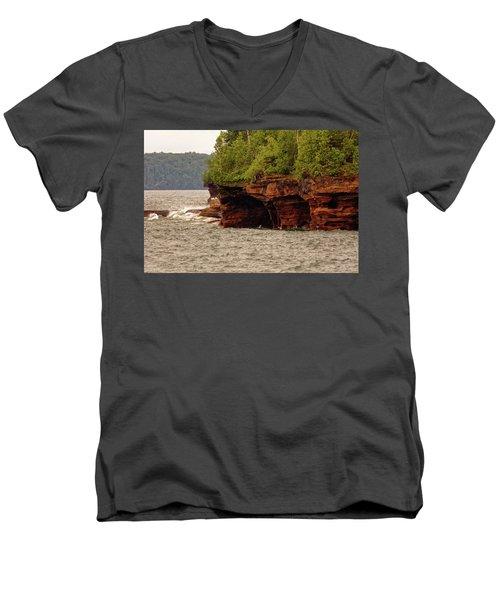 At The Point Men's V-Neck T-Shirt