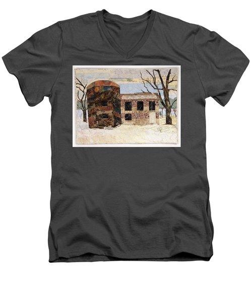 At The River's Edge Men's V-Neck T-Shirt