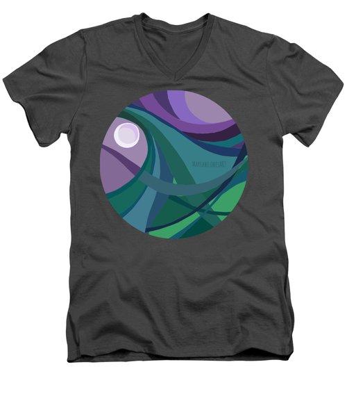 aTARDEcer malva I Men's V-Neck T-Shirt