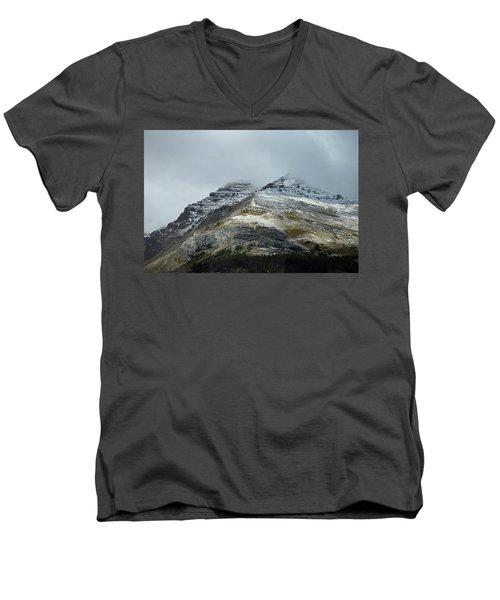 Athabasca Glacier No. 3-1 Men's V-Neck T-Shirt