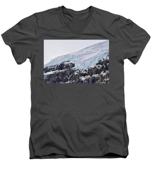 Athabasca Glacier No. 80-1 Men's V-Neck T-Shirt