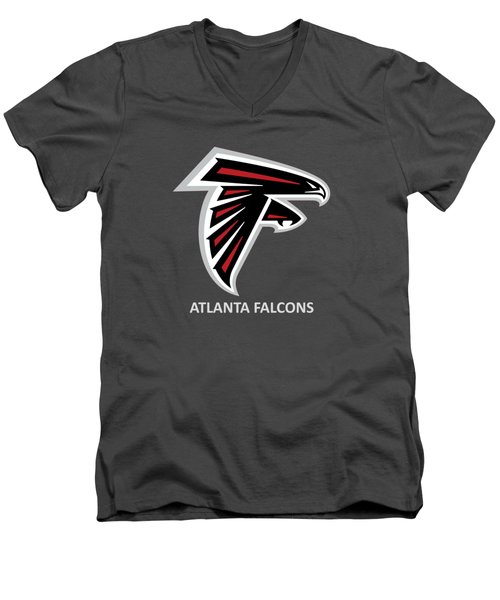 Atlanta Falcons Barn Men's V-Neck T-Shirt