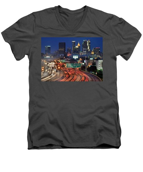 Atlanta Heavy Traffic Men's V-Neck T-Shirt