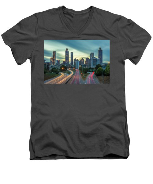 Atlanta Men's V-Neck T-Shirt